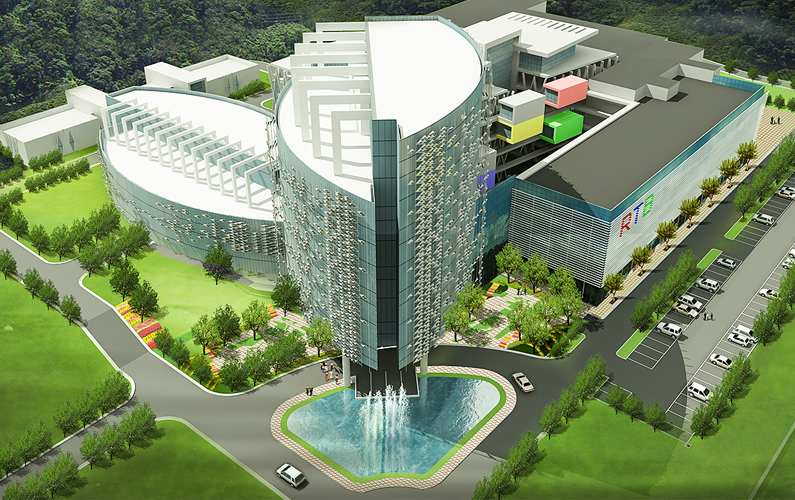 Proposed RTB Auditorium & New Broadcasting Complex Phase I