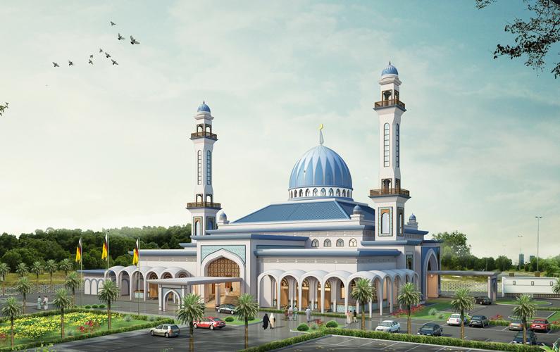 Signing Ceremony for the Perpindahan Kampung Meragang Mosque