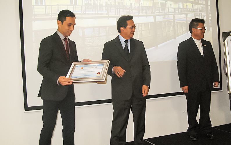 ASEAN – COCI's 'Citation of Excellent Architectural Design Reflecting East Asian' – First national level, Architectural Design Award