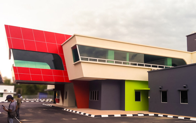 Kampong Mentiri Fire Station and Residential Development