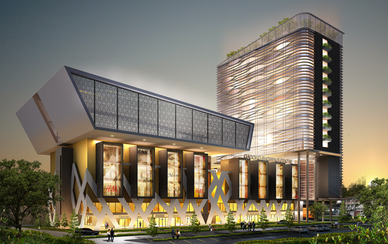 Modern Commercial Project At Gadong