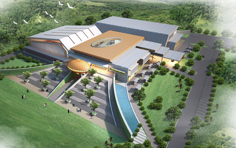 Proposed Multipurpose Sports Complex At Jerudong International School