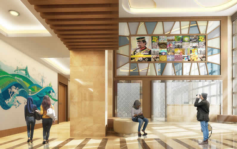 Proposed Upgrading Of Main Lobby Space For Ministry of Culture, Youth and Sports