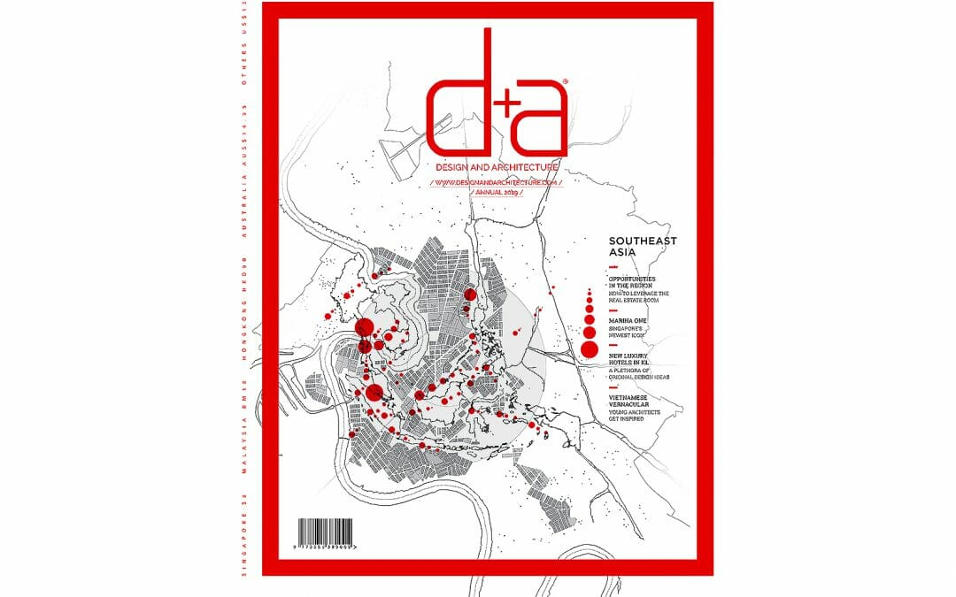 d + a Magazine Singapore – Nizam Wahab debut, September 2018