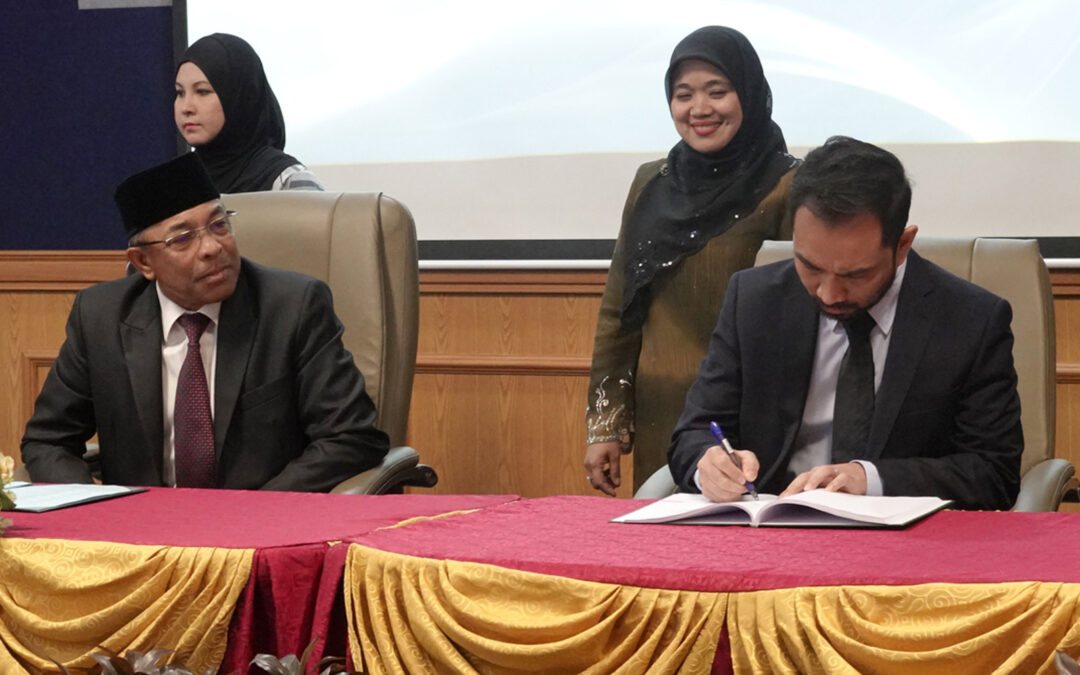 The Appointment (Signing Ceremony) of Consultant for Religious Teacher University College of Seri Begawan (KUPU SB) and New STKRJ Telisai Mosque